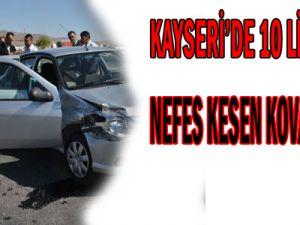 KAYSERİ&#39DE 10 LİRA İÇİN NEFES KESEN KOVALAMACA