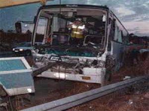 Sivas&#39ta Yolcu Otobüsü Menfez Çukuruna Düştü: 17 Yaralı