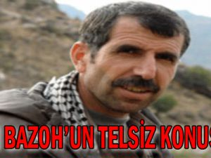 PKK&#39lı Bahoz&#39un telsiz konuşması