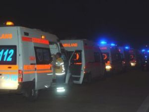Libya&#39daki yaralılar Adana&#39ya getirildi