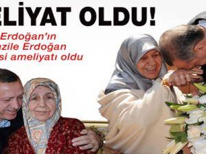 Erdoğan&#39ın annesi ameliyet oldu