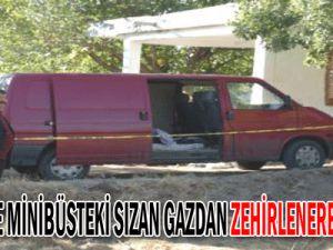 Kayseri&#39de Minibüsteki Mangaldan Sızan Gazdan Zehirlenerek Öldüler