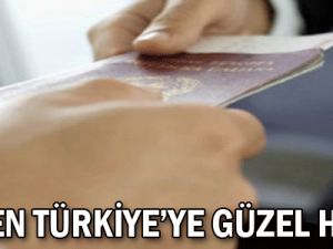 AB&#39den Türkiye&#39ye güzel haber