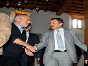 Tarihi Kalem Kırdı Camisi ibadete açıldı