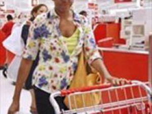 Alışveriş yaparken yakalandı