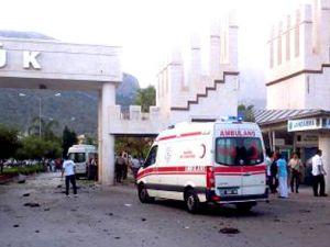 Flaş Flaş Antalya&#39da patlama 1 kişi öldü