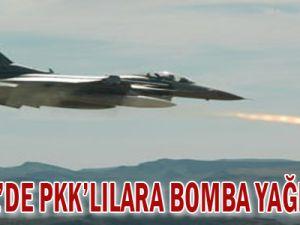 Kandil&#39de PKK&#39lılara bomba yağdırıldı