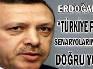 Başbakan Recep Tayyip Erdoğan Türkiye felaket senaryolarına rağmen doğru yolda