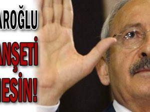 Kılıçdaroğlu bu manşeti görmesin!