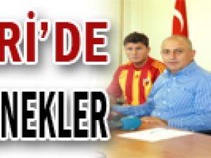 Kayseri&#39de yeni yetenekler