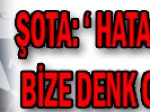 Kayserispor&#39da Şota:  Hatalar Hep Bize Denk Geliyor