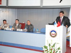 Kayseri Sanayi Odası Yönetim Kurulu Başkanı Mustafa Boydak Basın Açıklaması Yaptı