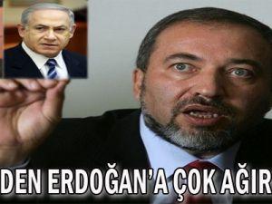 İsrail&#39den Erdoğan&#39a Çok Ağır Tepki!