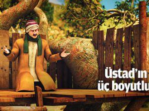 Üstad&#39ın Barla yılları üç boyutlu animasyon filmi oldu