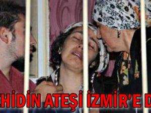İki Şehidin Ateşi İzmir&#39e Düştü