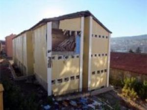 Yozgat Lisesi talebe yurdunda patlama