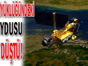 OTOBÜS BÜYÜKLÜĞÜNDEKİ NASA UYDUSU NİHAYET DÜŞTÜ!