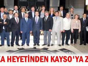 BELÇİKA HEYETİNDEN KAYSO&#39YA ZİYARET