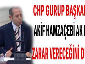 CHP AK Parti&#39nin Zarar Vereceğini Düşündü