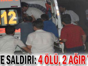 siirt&#39te saldırı: 4 ölü, 2 ağır yaralı