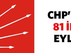 CHP&#39den 81 ilde eylem Yapıcak