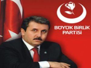 BBP  Genel Başkanı Destici Kayseri&#39de