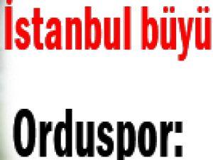 İstanbul Ordu Dostça Paylaştılar Puanları