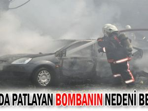Ankara&#39da Patlayan Bombanın Nedeni Belli Oldu