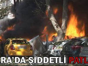 Ankara&#39da Şiddetli Patlama