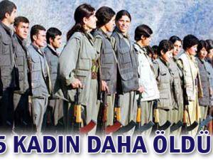 PKK, 5 kadın teröristi infaz etti