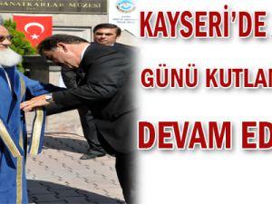 KOSEB BAŞKANI ALAN&#39DAN AHİLİK HAFTASI KUTLAMALARI