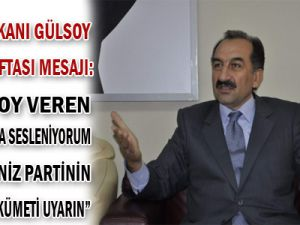 AKP&#39ye oy veren yurttaşlarıma, hemşerilerime sesleniyorum. Oy verdiğiniz partinin kurduğu hükümeti uyarın.