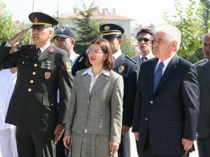 19 EYLÜL GAZİLER GÜNÜ HACILAR&#39DA TÖRENLE KUTLANDI