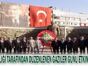 Kayseri Valiliği tarafından gerçekleştirilen Gaziler Günü etkiliği kutlandı.