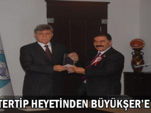 Alan Ve Tertip Heyeti Ziyareti Büyükşehir&#39e