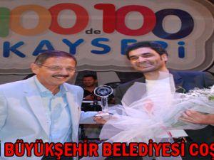 Kayseri Büyükşehir Belediyesi Coşturdu