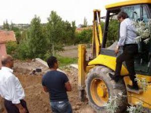 """Başkan Mehmet Özmen """"Bünyan'da alt yapı sorunu kalmayacak"""""""