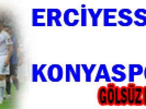 Erciyesspor Konyaspor Yenişemediler