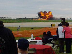 ABD&#39de bir hava gösterisi kazası daha