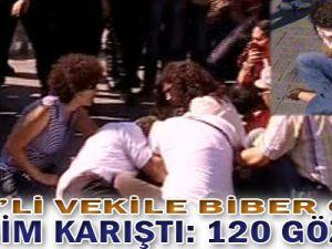 Taksim Karıştı: 120 Gözaltı