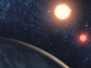 Bu gezegenin iki güneşi var