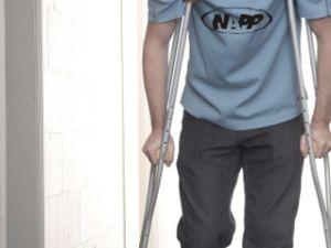 Kayseri&#39de İş Kazası geçiren Vatandaş Yardım Bekliyor