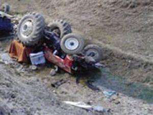 Sivas&#39ta Kullandığı Tratörün Altında Kalan Sürücü Öldü