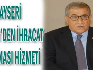 BASIN BÜLTENİ Kayseri Ticaret Odası ve Kayseri ABİGEM A.Ş Yönetim Kurulu Başkanı Sayın H. Ali KİLCİ aşağıdaki açıklamayı yapmıştır