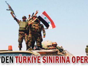 Suriye&#39den Türkiye sınırında operasyon