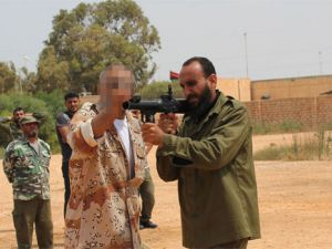 Libyalı muhalifleri Türk özel harekatçılar eğitti