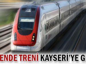 PERAKENDE TRENİ KAYSERİ&#39YE GELİYOR