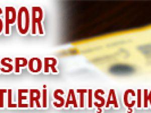 KAYSERİSPOR - ANTALYASPOR MAÇININ BİLETLERİ SATIŞA ÇIKTI