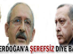 GANDİ ERDOĞAN&#39A ŞEREFSİZ DİYE BAĞIRDI!