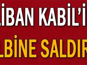 Taliban, Kabil&#39in kalbine saldırdı!